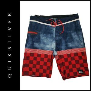 Quiksilver Men Dry Flight Board Shorts Size 32
